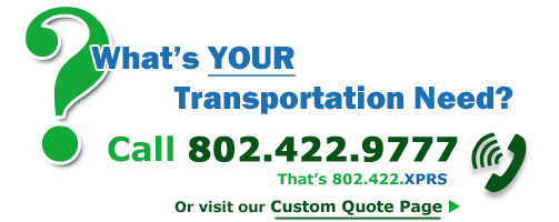 Call Killington Express Shuttle today to arrange your custom vermont door-to-door transportation