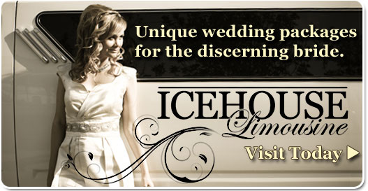 Choose Icehouse Limousine for the Very Best in Classic Elegant Wedding Day Transportation